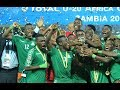 ZAMBIA UNDER- 20 FOOTBALL TEAM'S JOURNEY TO THE U-20 AFCON TITLE