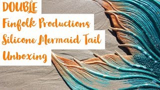Finfolk Productions Full Silicone Mermaid Tail Unboxing Perth Mermaids