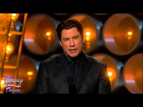 John Travolta Introduces Idina Menzel Oscars Fail