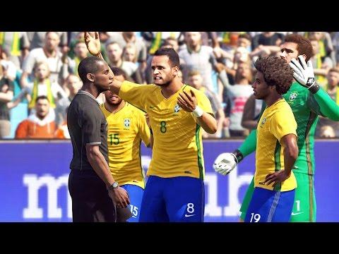 Brasil Vs Alemanha - Pro Evolution Soccer 2017 - PES 2017 (PS4)