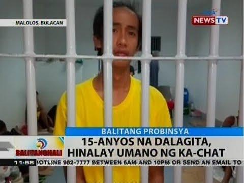 BT: 15-anyos na dalagita, hinalay umano ng ka-chat