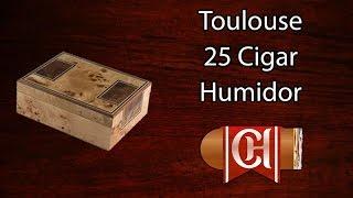 Toulouse - 25 Cigar Humidor