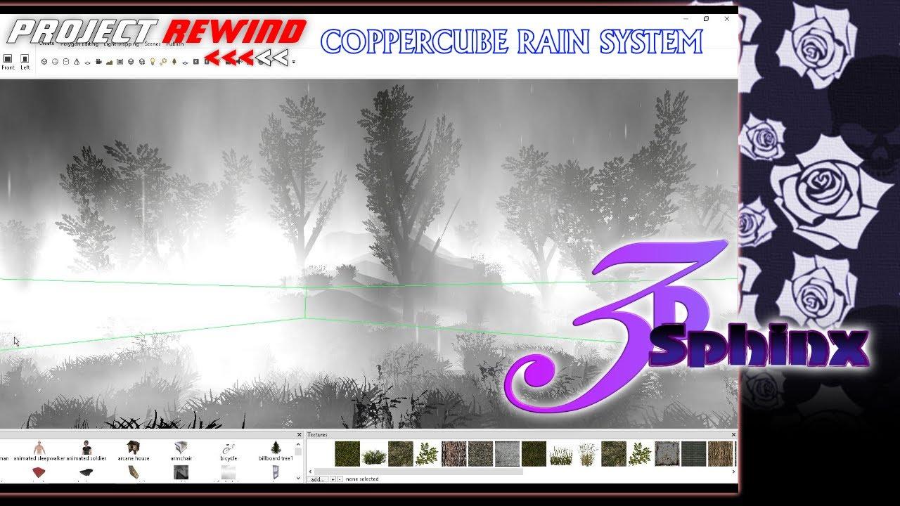 Project Rewind: CopperCube Rain System