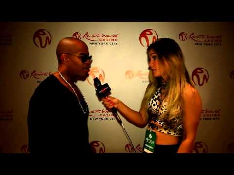 Chris Willis Interview with Tori Deal - Resorts World Casino 2014