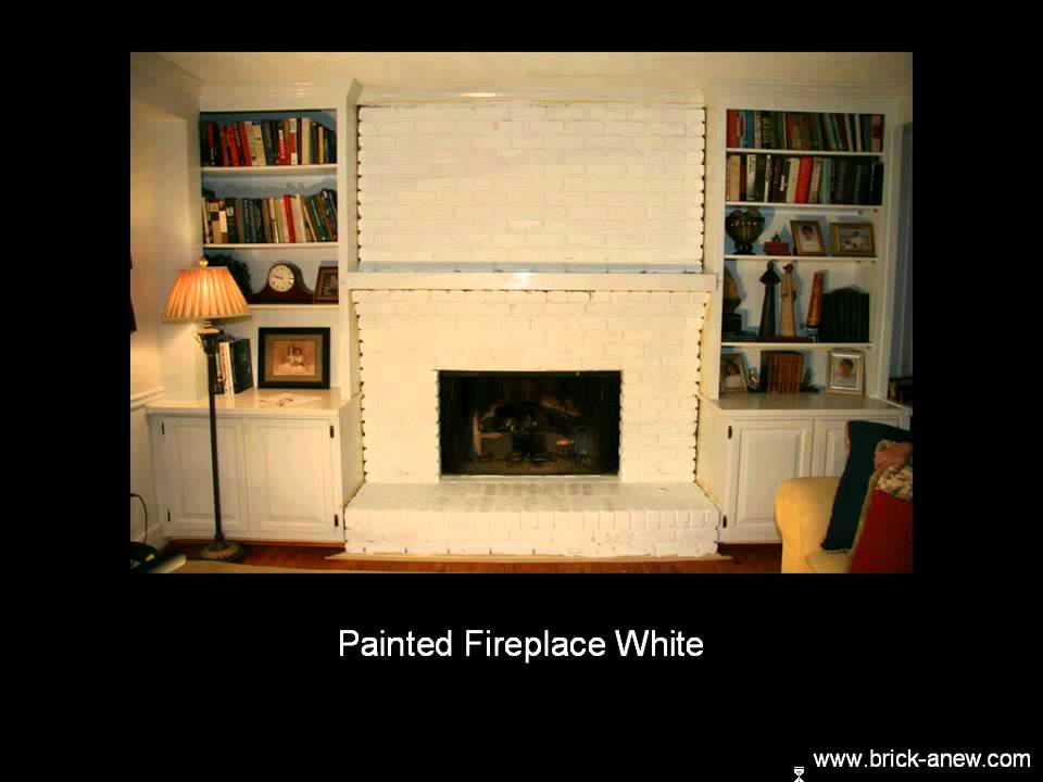 Fireplace Design you tube fireplace : Painting Fireplace - BrickAnew - YouTube
