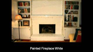 Painting Fireplace - Brickanew