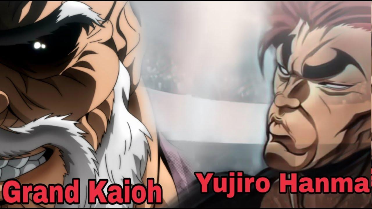 Baki 2018 ep 27 Grand Kaioh vs Yujiro Hanma