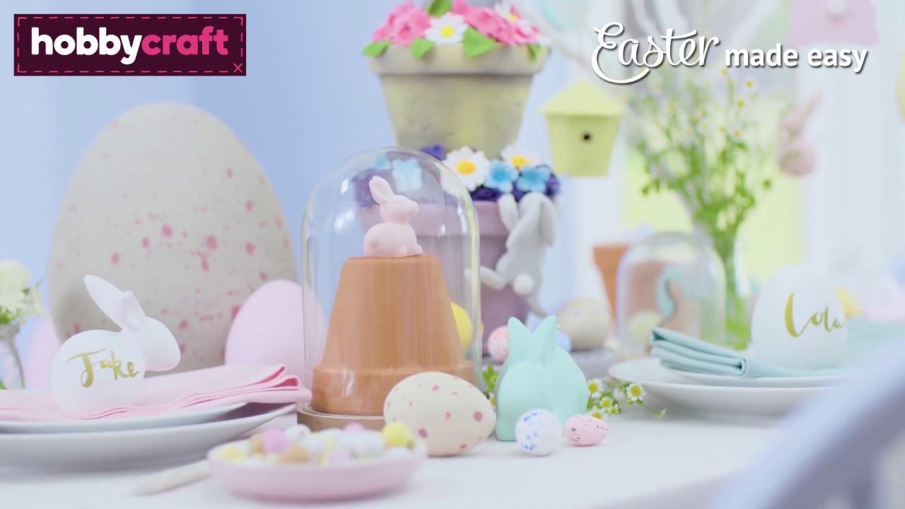 Easter Table Decoration Hobbycraft Youtube