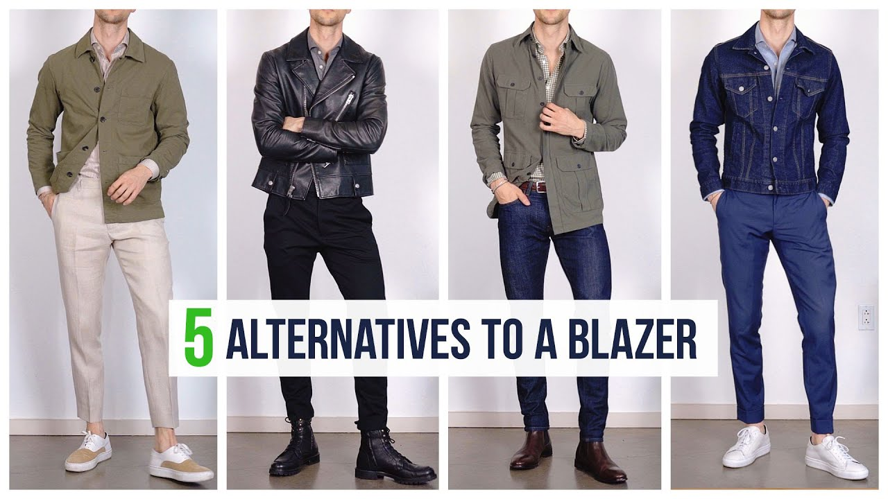 5 Casual Alternatives to a Suit Jacket