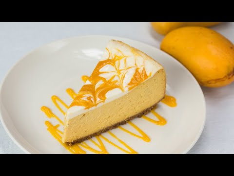 Mango Lime Cheesecake