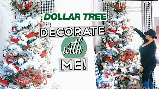 DECORATE MY CHRISTMAS TREE WITH ME 2018 | HOW TO DECORATE ON A BUDGET