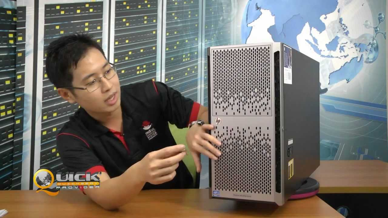 Hp Proliant Ml350p Gen8 Youtube