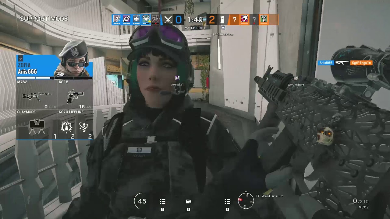 Tom Clancy's Rainbow Six Siege sound glitch