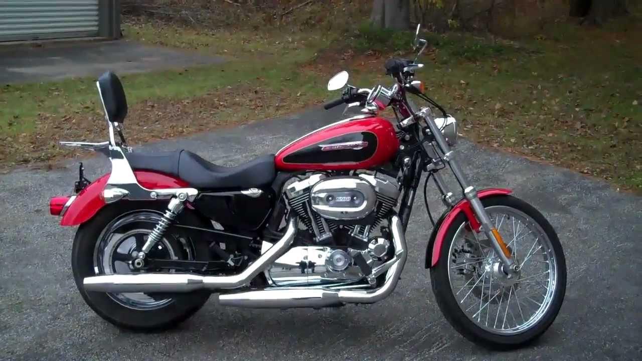 Harley Davidson Sportster  Red