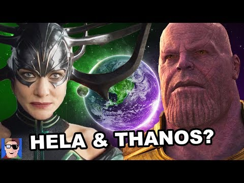 Will Hela and Thanos Team Up? | Infinity War Theory