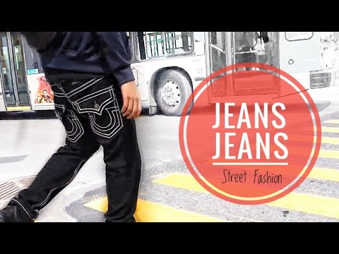 STREET FASHION Ep 01 - Black True Religion Jeans