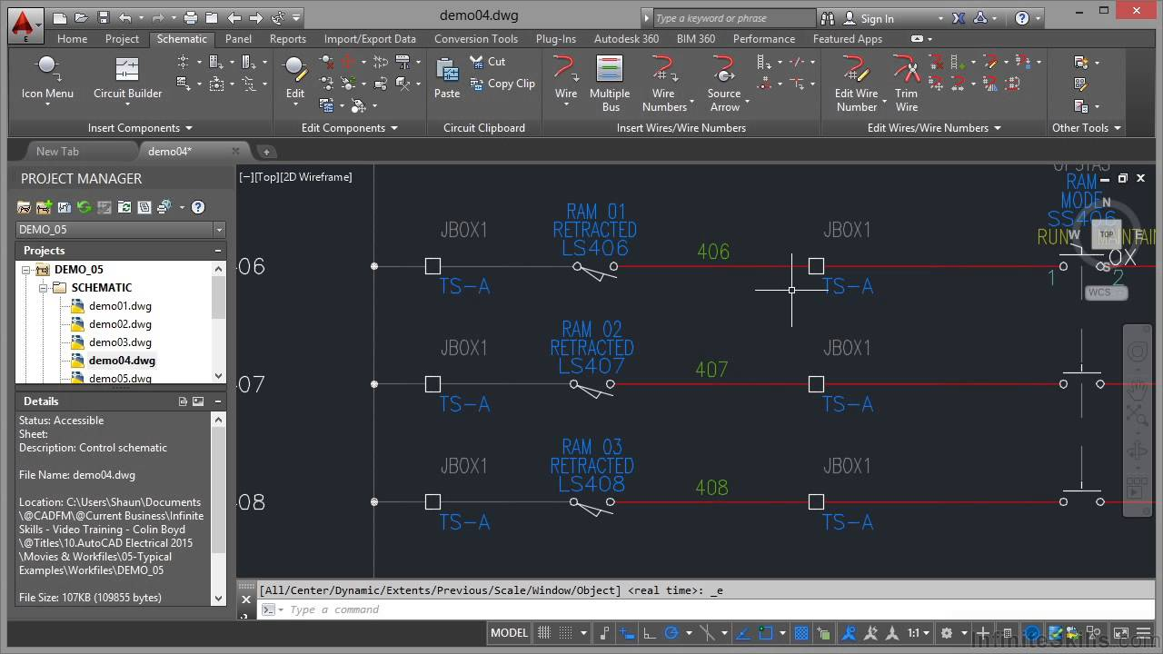 autocad electrical 2015 tutorial logic ladder drawings youtube rh youtube com complex circuit diagram autocad 2016 autocad electrical loop diagrams [ 1280 x 720 Pixel ]