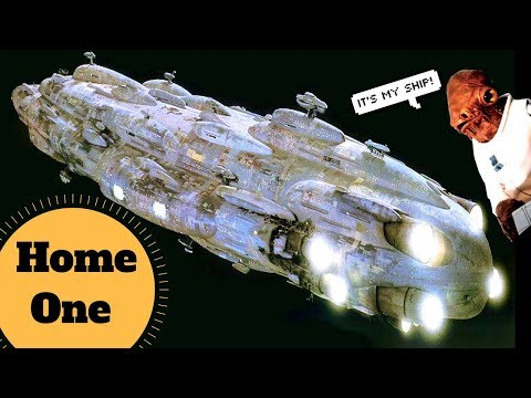 Admiral Ackbar's Flagship - MC80 HOME ONE Star Cruiser - Star Wars Ship & Starfighter Lore Explained