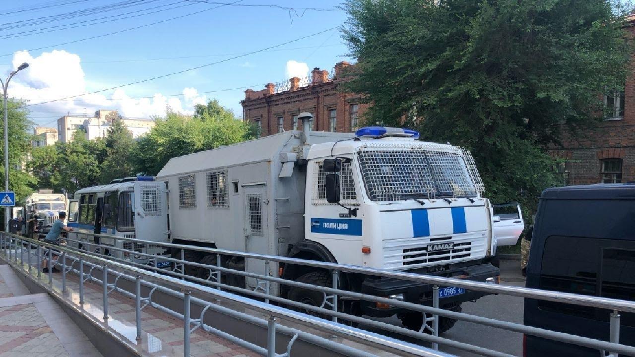 Жители Хабаровска не принимают отставку губернатора Сергея Фургала / LIVE 22.07.20