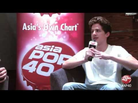 Charlie Puth chats to Dom Lau on Asia Pop 40