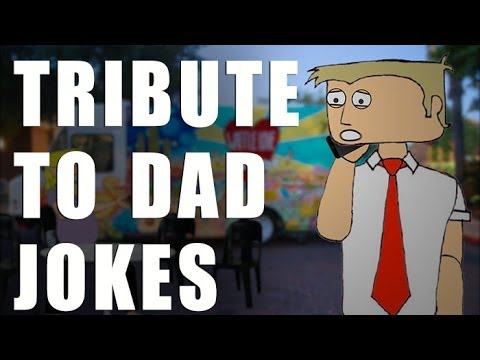 Father's Day - Tribute to Dad Jokes Cartoon - YouTube