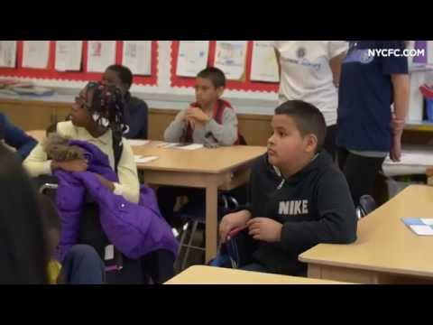 Tony Taylor surprises kids at PS 29 in the Bronx