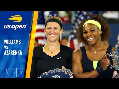 Serena Williams Vs Victoria Azarenka Full Match | US Open 2012 Final
