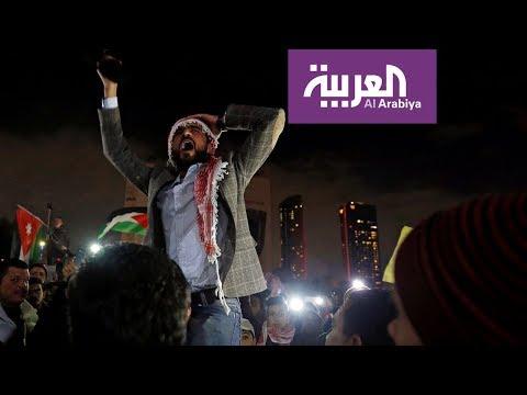 على خطى #السترات_الصفر .. شماغات وسترات حمر في الأردن وتونس  - نشر قبل 4 ساعة