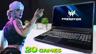 Acer Predator Helios 300 2019 Benchmarks - GTX 1660Ti / i7-9750H