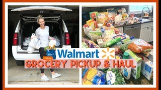 MY FIRST WALMART GROCERY PICKUP & GROCERY HAUL | SEPTEMBER 2019