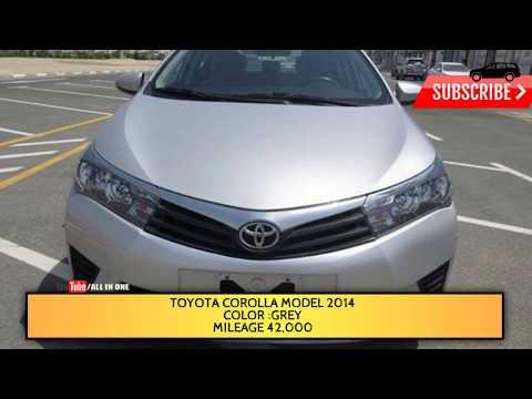 Toyota Corolla Model 2014 for sale | Used Cars Dubai| Used Cars Dubai|