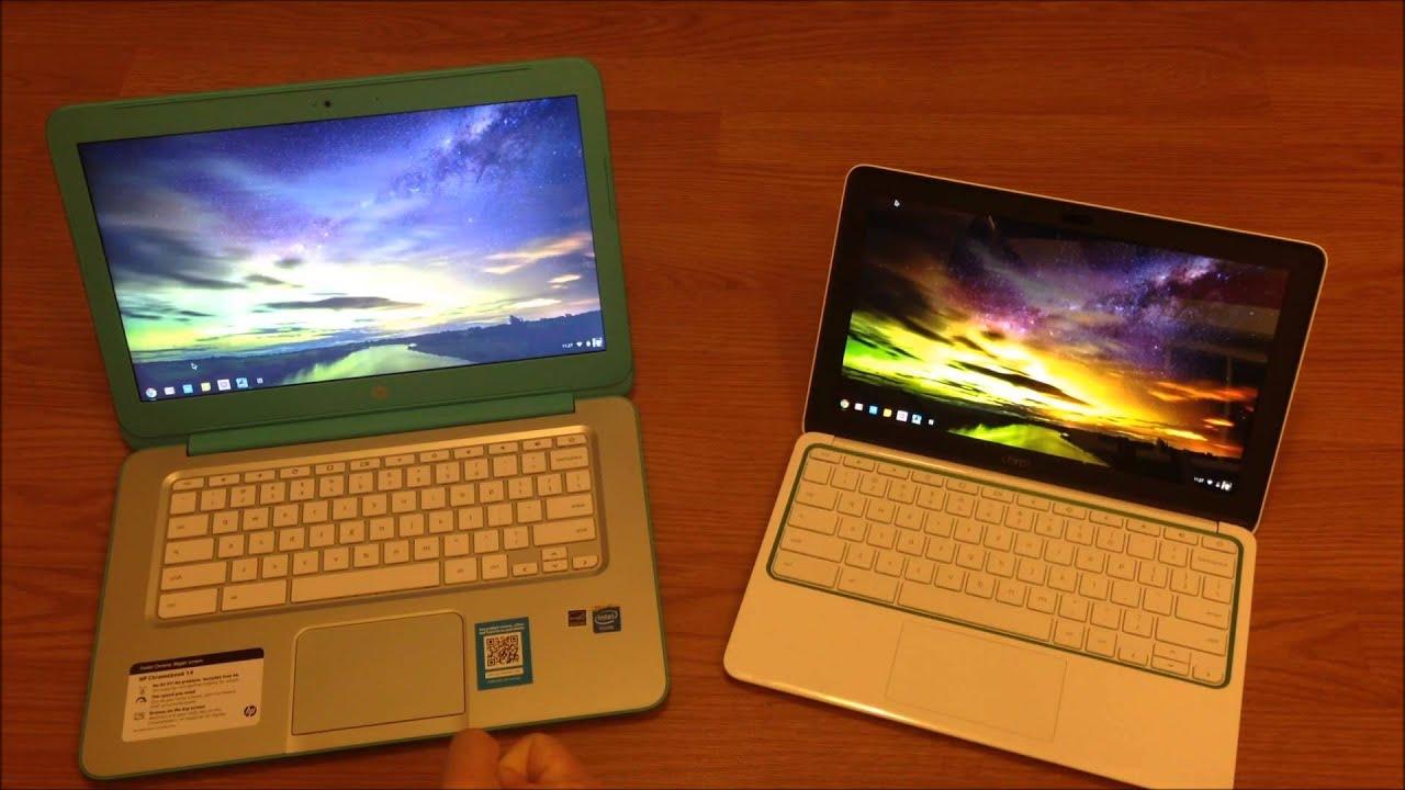 Hp Chromebook 14 Vs Hp Chromebook 11 Youtube