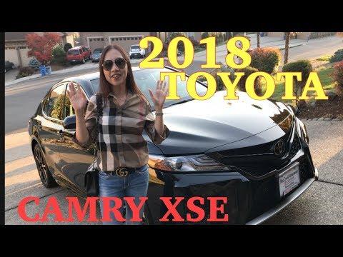 Xe Toyota Camry XSE 2018 ơ Mỹ quá rẻ