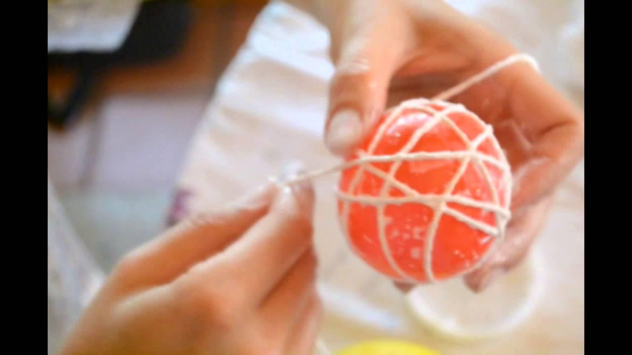 Como hacer esferas navide as decorativas ideales para el for Cosas decorativas para navidad