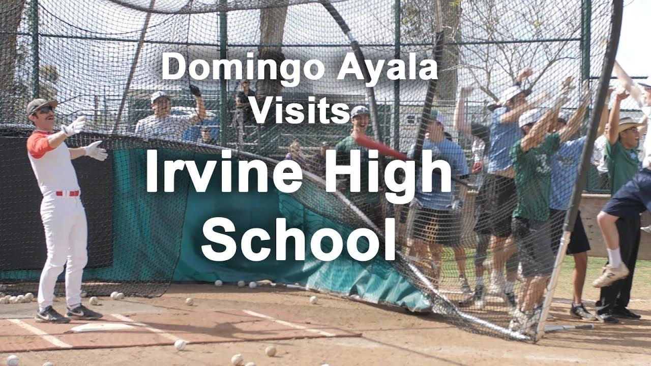 Domingo Ayala Visits Irvine High School