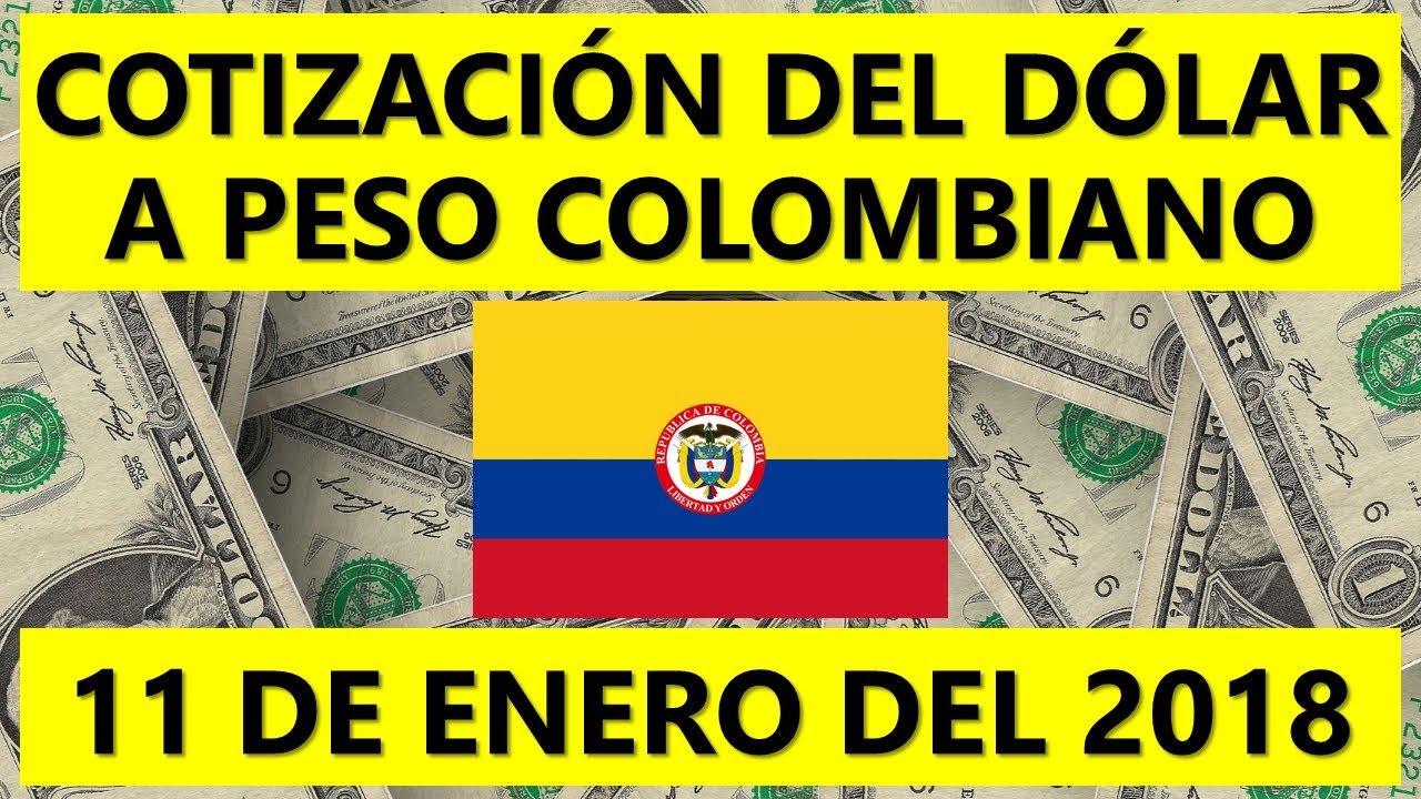 Precio Del Dólar Hoy En Colombia 11 De Enero 2018