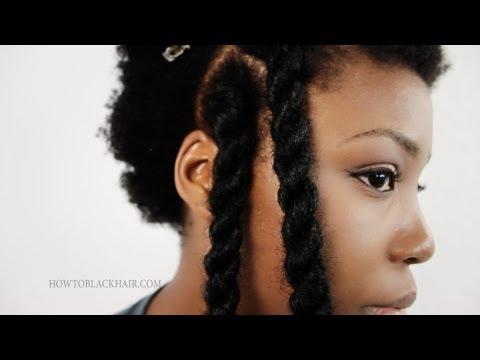 Havana Twists Step By Step Hair Tutorial Jumbo Senegalese/ Invisible Root Marley Twist Method Part 2