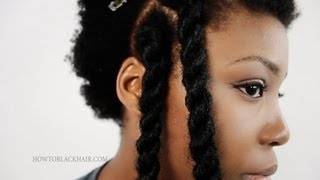 Havana Twists Step By Step Hair Tutorial Jumbo Senegalese/ Invisible Root Marley Twist Method Part 2