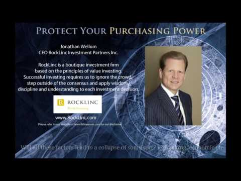 "Jonathan Wellum, CEO Rocklinc Investment Partners - ""Protect Your Purchasing Power"""