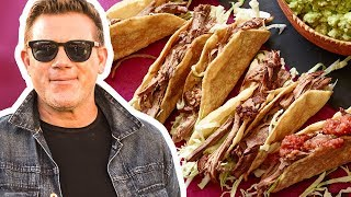 Tyler Florence Makes Mexican Pot Roast Tacos | Tyler's Ultimate | Food Network