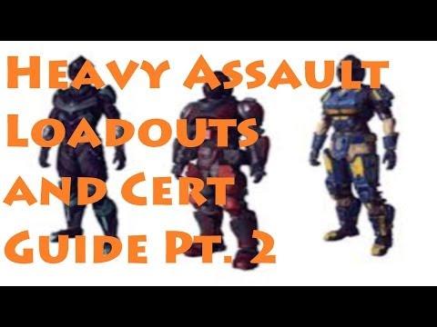 Planetside 2: Heavy Assault Loadouts and Cert Guide Pt. 2