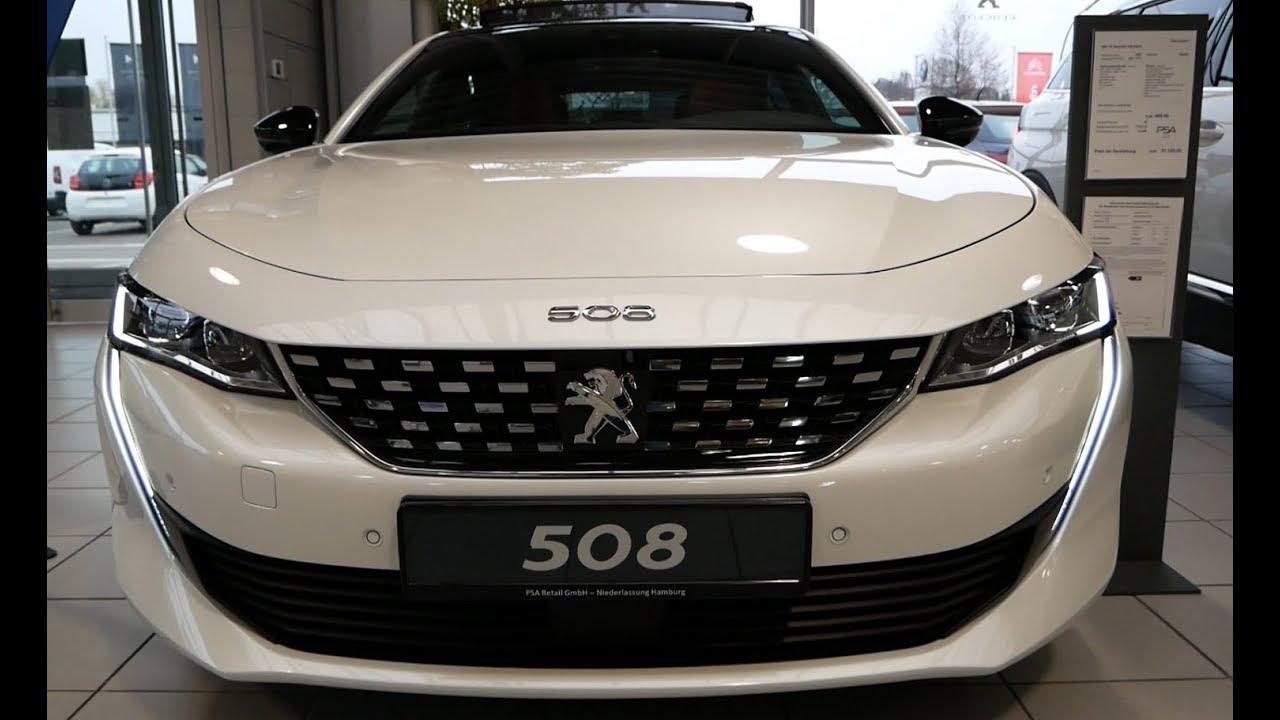 Khám phá mẫu xe sedan Peugeot 508 bản GT