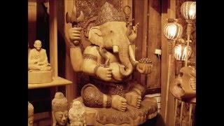 Chiangmai Wood Carving Art With เพลงเขมรโพธิสัตว์ Music
