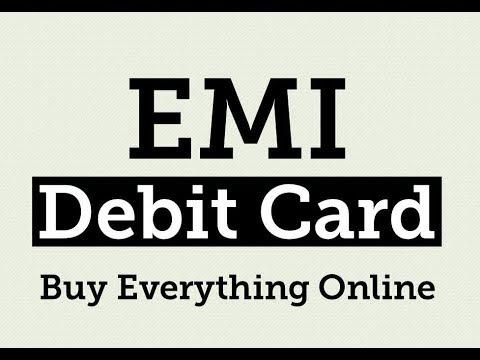 Get EMI on Debit Card, Purchage Online Part 1