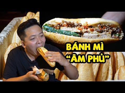 """Bánh mì """"âm phủ"""" Đà Nẵng bán hơn 1.000 ổ mỗi đêm   360 độ ngon"""