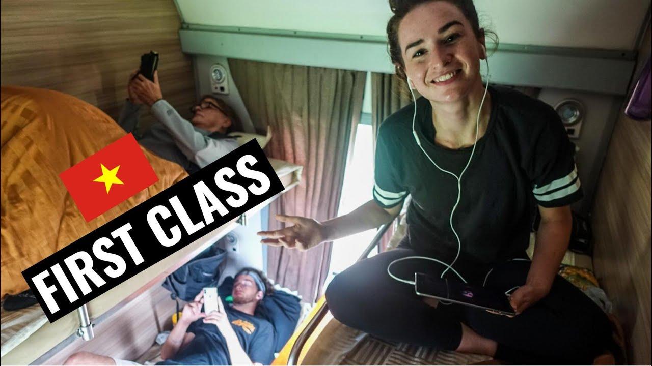 FIRST CLASS SLEEPER TRAIN in VIETNAM | Nha Trang to Da Nang