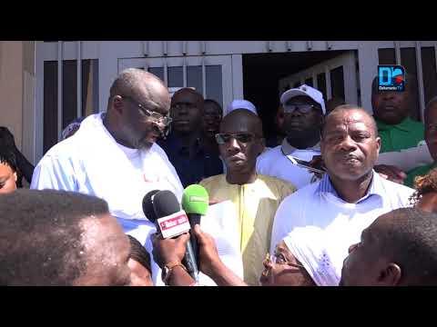 """Moustapha Cissé (CEDEAO) : """"Nous sommes venus remettre les conclusions et les recommandations ..."""""""