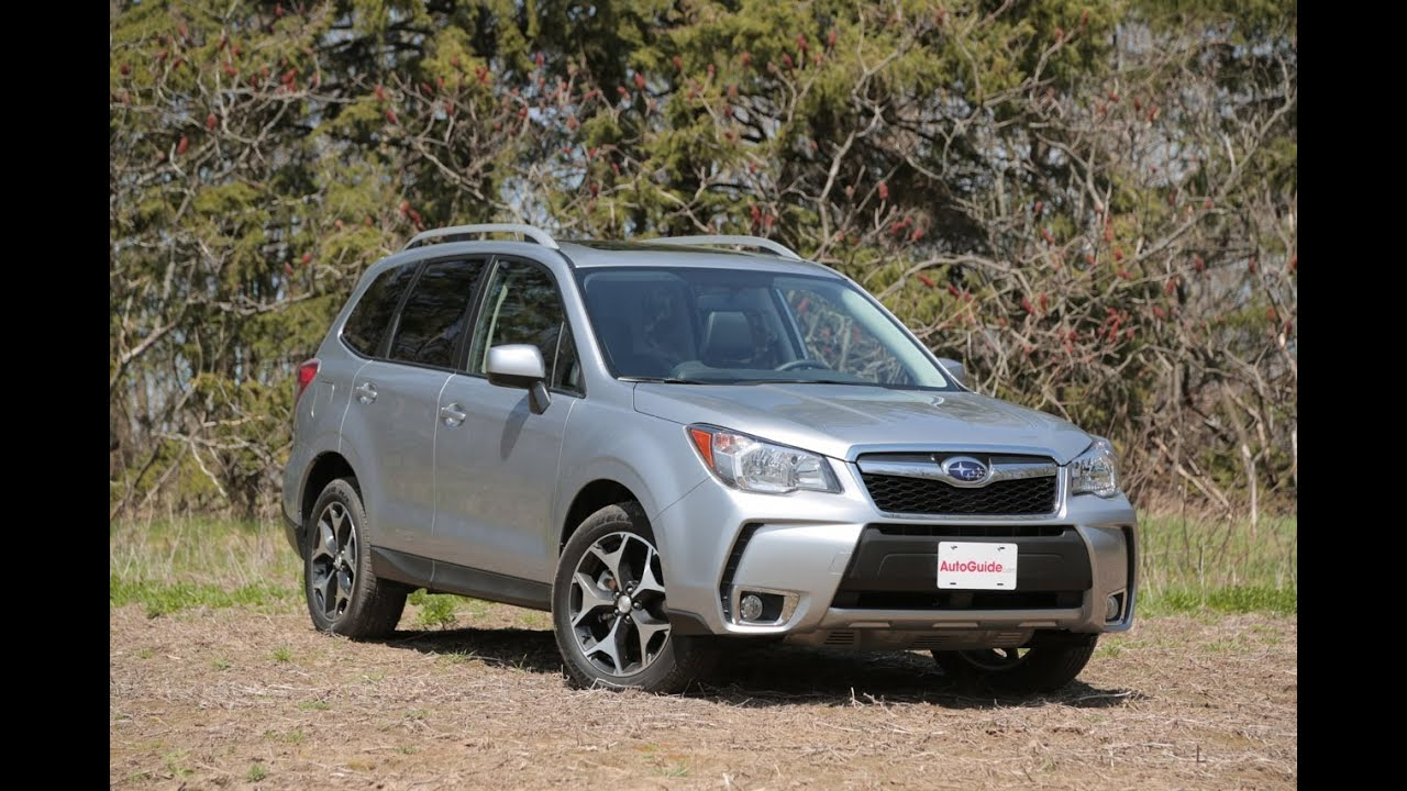 2014 subaru forester xt review video