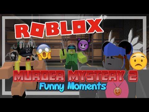 Murder Mystery 2 - ROBLOX Funny Moments (w/ FUDZ & Hollpiglet)