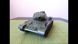 Модель танка Т-34 обр. 1944 року